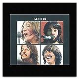 Mini-Poster Beatles (Official) - Let It Be 1970-30 x 30 cm
