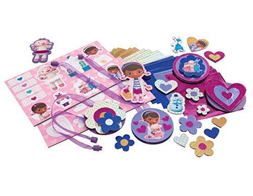 Cool Create – Docteur La Peluche – Sticker Scratcherz – Kit de Création de Stickers et Badges