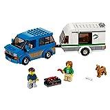 LEGO City Great Vehicles Van & Caravan 60117 Building Toy