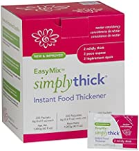 SimplyThick Easy Mix Gel Thickener- 6g Individual Packets- 200 Ct
