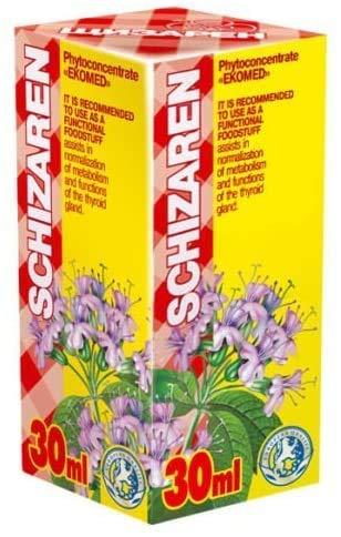 Schizaren 30ml Fitoconcentrado – Extractos de plantas naturales – Función tiroidea efectiva – Regeneración celular