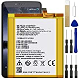 for ZTE Blade V8 Pro Z978 BV8P121 Replacement Battery, for Li3933T44P8h756346 Battery with Adhesive Tape Tool Repair Kit