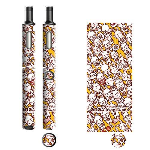 電子たばこ タバコ 煙草 喫煙具 専用スキンシール 対応機種 プルームテックプラスシール Ploom Tech Plus シール Nut Case Factory オリジナルイラスト 03 Nut Case 103-pt08-0003