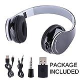 VBESTLIFE Oreillettes Bluetooth4.1 Écouteur Snas Fil Pliable Gaming Headset Casque HiFi pour PS4 Téléphone Portable Ordinateur