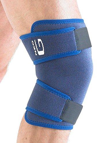 Neo G geschlossen Kniebandage–One Size, Unisex, Medical Grade, hochwertige verstellbare Unterstützung, Klammer hilft Unterstützung Verletzte, geschwächte, arthritische Knie, Zerrungen, Verstauchungen, Instabilität, Schmerzen, Schmerzen, Steifheit, Recovery, Rehabilitation, Alltag Unterstützung und Wärme