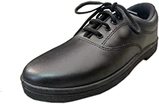 My Zone School Shoes for Boys (with Laces) Black