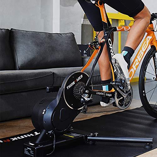 Klevsoure 2020 Nuevo X7 3 MTB Bicicleta de Carretera Bicicleta Inteligente Bicicleta Entrenador Marco de Fibra de Carbono Medidor de Potencia Incorporado Bicicleta Entrenadores Plataforma