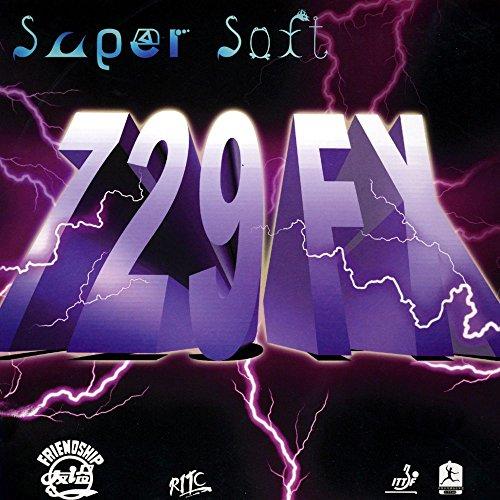 Friendship 729 Super Soft - Tenis de mesa, rojo, 1.5