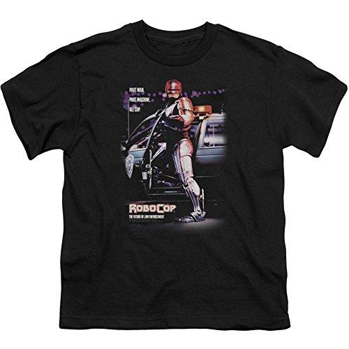 Official Boys Robocop Poster T Shirt