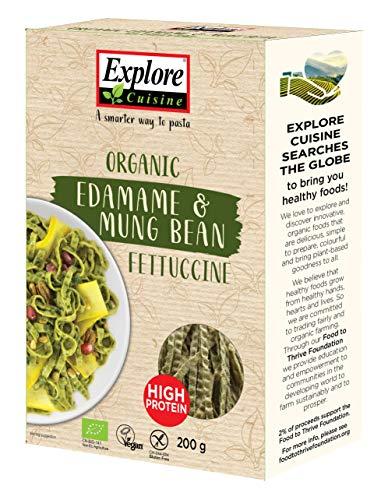 Explore Cuisine - Fettuccine aus Edamame- und Mungobohnen, BIO, vegan, glutenfrei, 200g