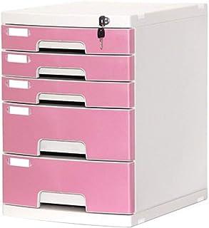 Armoire à fichiers Armoire de Bureau Boîte de rangement en plastique for stockage de données à 5 tiroirs - Multicolore 29....