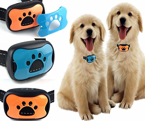 Classic 681-VP (VIBRATION) No Hurt Bark Dog Collar ( Small Dogs 8lbs to 80lbs) Bark Training Solution. Best Anti Bark Collar (New Arrival 2018) 100% Lifetime Product Warranty