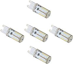 LED Lamp 5Pcs-Pack LED G9 Light Bulb Lamp 57 SMD 3014 LED 4 Watt AC/DC 12V / 10-20V Warm White/Cool White Equivalent to 30...
