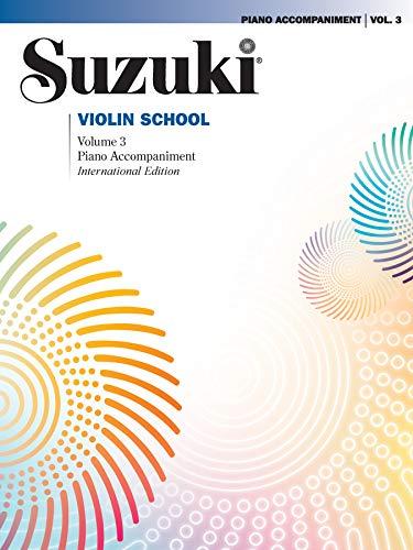 Suzuki Violin School, Vol 3: Piano Accompaniment (Suzuki Method Core Materials)