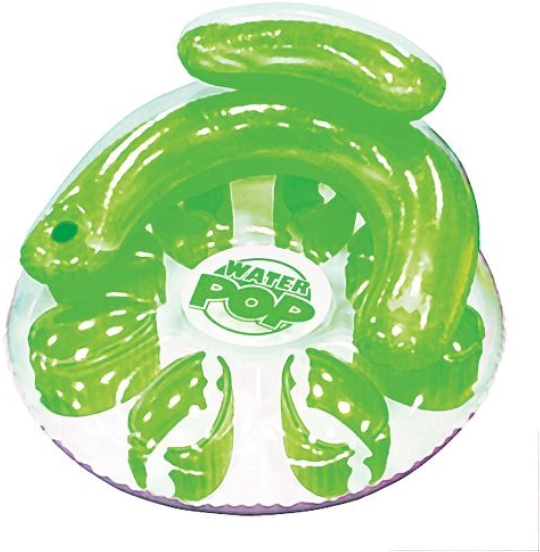 Poolmaster 06483 Water Pop Circular Lounge  Green by Poolmaster