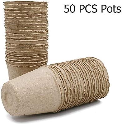 Kinglake - Macetas de semillas de fibra biodegradable para ...