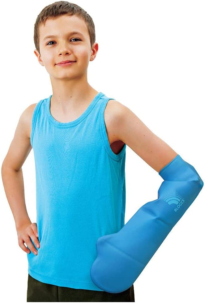 2021 model Bloccs Waterproof Cast Cover Award for Child Arm Showering - CSA71-L