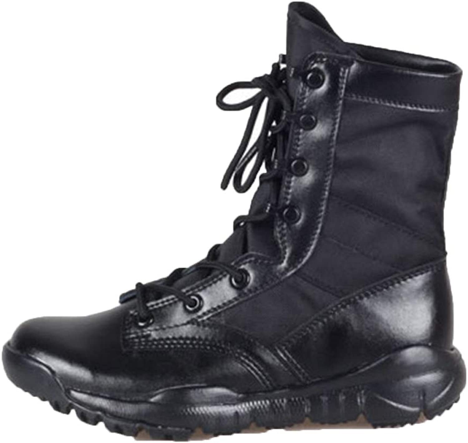 Men's Boots Tactical Military Boots Desert Lightweight Combat Boots High To Help Mountaineering