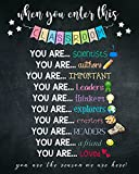 Teaching Poster, Inspirational, All Subjects, Poster for Classroom, Bulletin Board Idea, Back to School - Full Size 11'x17' 12'x18' 16'x24' 18'x24' 24'x36' Please Custom Your Size Poster Unframed