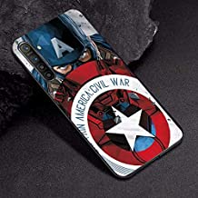 VERONIQUE-Fitted Cases - For OPPO A3S Case A7 AX7 Captain Marvel Comics Soft TPU Case For OPPO R17 RX17 Neo K1 A9 A5 2020 A5 A11X Case Cover Realme XT X2 (TPUBLK636 For OPPO RX17 Neo)