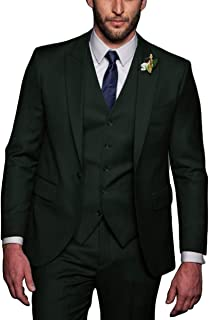 7ba1f374 Faiokaver Men's Suits for Wedding Regular Fit Big and Tall Tuxedo Suits for  Groom