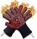 2021 Premium Extreme 1472F Heat Resistant Oven Gloves - Silicone...