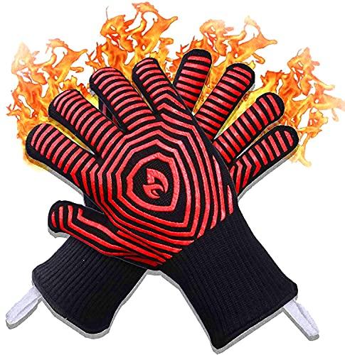 2021 Premium Extreme 1472F Heat Resistant Oven Gloves -...