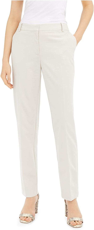 Alfani Womens Slim Fit Tummy Control Trouser Pants