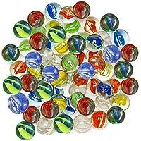 100 pedazos Mármoles de Cristal Coloridos, Juguetes de Bolas de Canicas para Juguetes de la Decoración, Consolas de Juegos, juego de niños, Casa, Decoración de la Planta Hidropónica