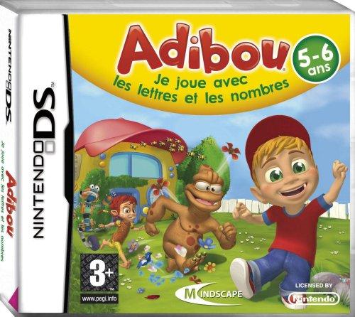 Adibou 5-6 ans - Je joue avec les lettres et les nombres