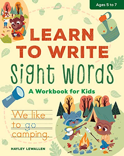 Learn To Write Sight Words: A Workbook for Kids
