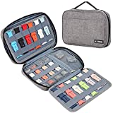 BGTREND Watch Band Storage Case for 32 Watch Straps, Watch Band Holder and Organizer Compatible with Apple Watch Bands and Other Accessories, Gray