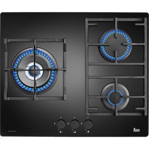 Teka CGW LUX 60 3G AI AL TR - Placa de cocción a gas (Incorporado, Vidrio,...