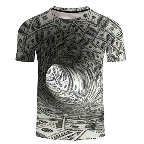 SSBZYES Camiseta para Hombre Camiseta De Verano De Manga Corta para Hombre Cuello Redondo Suéter para Hombre Camiseta Estampada Camiseta De Gran Tamaño para Hombre Camiseta De Pareja De Moda para