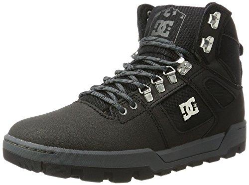 Kauai Textilvertriebs DC Shoes Herren Spartan HIGH WR Boot Klassische Stiefel, Schwarz (Black/Black/Dk Grey), 45 EU