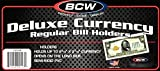 BCW Deluxe Regular Bill Currency Holder - 25 ct