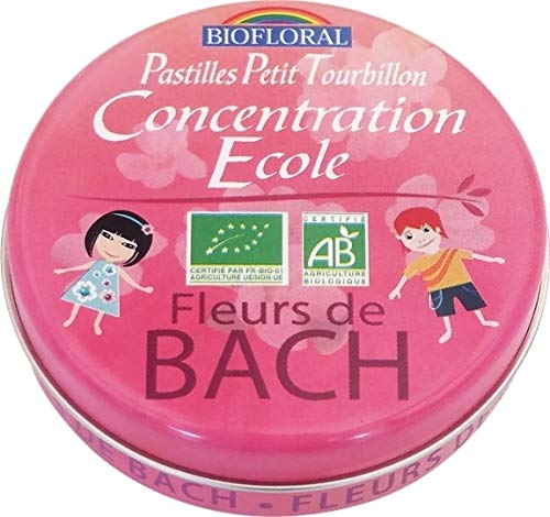 Pastilles petit tourbillon concentration ecole - 50 g - Bio