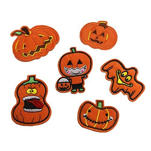 LUOEM 1 Satz 11 Stück Halloween Premium Longlasting Nützlich Hilfreich Langlebig Bequem Stoff Patch Patch Patch Zubehör für Erwachsene Kinder