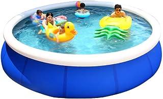 JCCOZ -URG - Piscina inflable para niños y adultos, interacción familiar, piscina de verano, piscina de aire, salón, piscina al aire libre, jardín, patio trasero, portátil, 457 x 107 cm URG