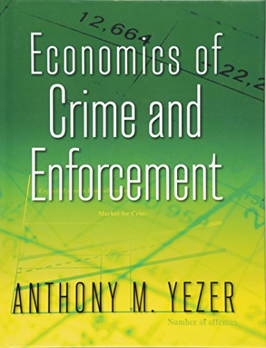 Economics of Crime and Enforcement
