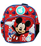 Mini Backpack - Disney - Mickey Mouse Magic Stars School Bag New 129431