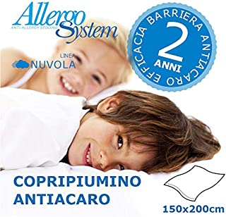 Allergosystem Copricuscino Antiacaro Nuvola 40x40cm 100/% Polipropilene