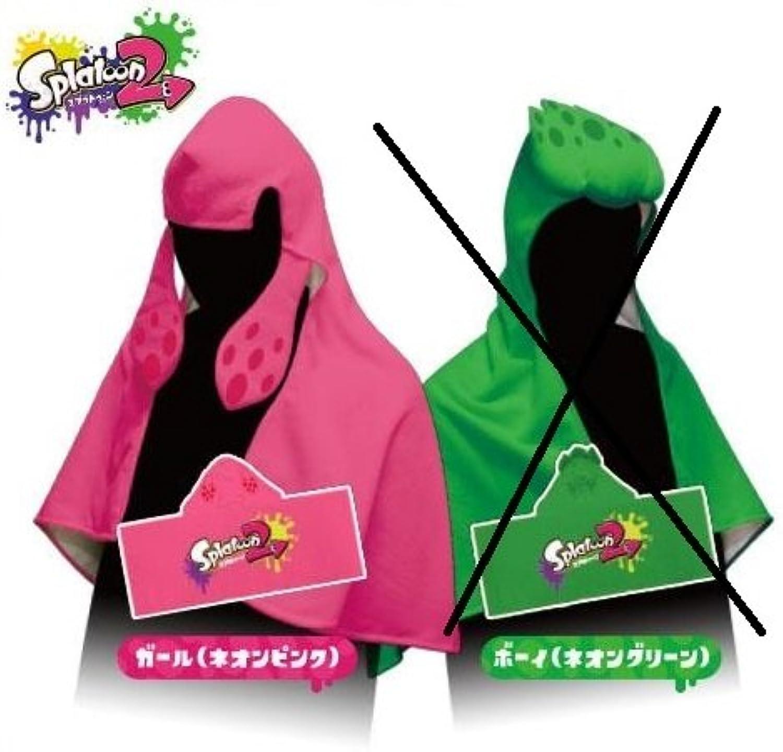 Splatoon Splatoon squid legs hooded towel separately pink