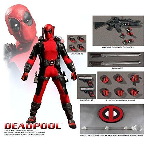 "ONE:12 COLLECTIVE 76450"" Deadpool Figure image"