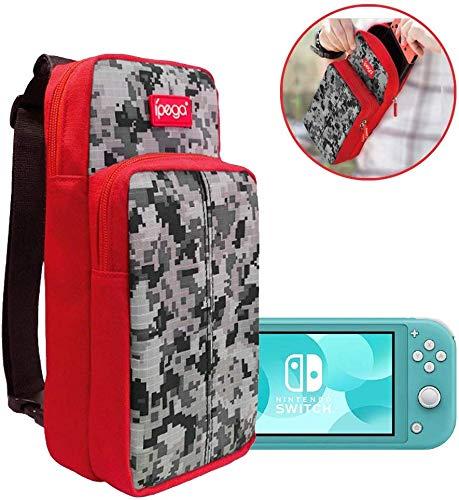 Case mala Maleta sling bag Switch Lite com alça Viagem Transporte Nylon Cabe Tudo PG-SL011