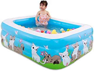 HOMESROP Piscinas for remar de 150 x 110 x 50cm- Deportes acuaticos inflables for Piscinas