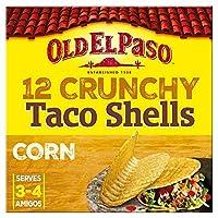 [Old El Paso] 古いエルパソカリカリタコスシェルのX12の156グラム - Old El Paso Crunchy Taco Shells X12 156G [並行輸入品]