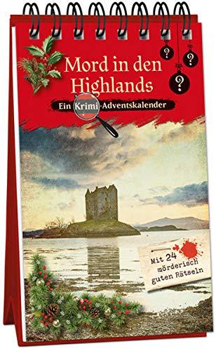 Mord in den Highlands: Ein Krimi-Adventskalender mit 24 mörderisch guten Rätseln (Inspector Morrissey ermittelt)