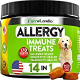 Allergy Relief - Dogs can be allergic to a number of things. Our natural allergy immune treats directly target your pet's immune system, which almost reactions whether seasonal and environmental Immunity Support - Our dog allergy chews are imbued wit...