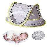 laamei Tienda Mosquitera de Campaña para Bebé Protección UV, UPF 50 + Cuna...